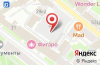 Схема проезда до компании Верэкс Спб в Санкт-Петербурге