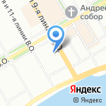 Санкт-Петербургская таможня на карте Санкт-Петербурга