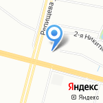 Коломяжская мечеть на карте Санкт-Петербурга