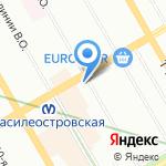 Моя оптика на карте Санкт-Петербурга