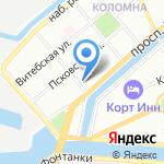 Дао Дэ на карте Санкт-Петербурга