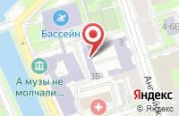 Схема проезда до компании Апрель в Санкт-Петербурге