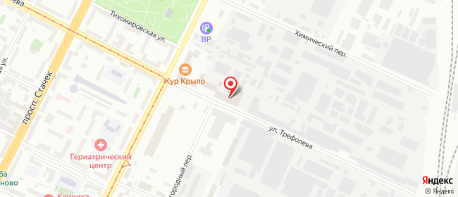 Карта расположения пункта доставки Санкт-Петербург Маршала Говорова в городе Санкт-Петербург