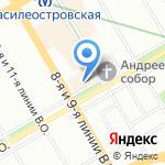 Лавка коллекционера на карте Санкт-Петербурга