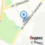 К-Руока на карте Санкт-Петербурга