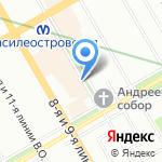 Султан на карте Санкт-Петербурга