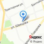 Нарвский Посад на карте Санкт-Петербурга