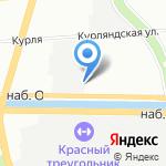 Комбинат пищевых продуктов на карте Санкт-Петербурга