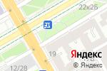 Схема проезда до компании КБ Гефест в Санкт-Петербурге