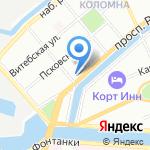 Coffee Face на карте Санкт-Петербурга