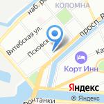 Русский Регистр на карте Санкт-Петербурга