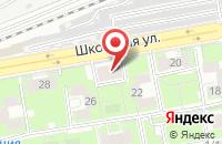 Схема проезда до компании Магазин автозапчастей в Кирзе