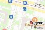 Схема проезда до компании Пивкофф в Санкт-Петербурге