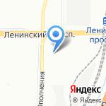 Шик Блеск клининг на карте Санкт-Петербурга