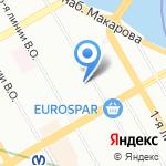 ПЫШКАпышка на карте Санкт-Петербурга