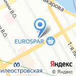 ДА! на карте Санкт-Петербурга