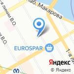 Ничего подобного на карте Санкт-Петербурга