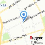 Молдова на карте Санкт-Петербурга