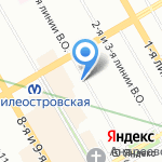 Нотариусы Королева С.В. и Рассошко Л.С. на карте Санкт-Петербурга