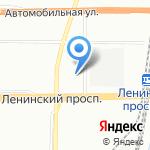 Autojack на карте Санкт-Петербурга