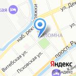 Научно-практический центр судебной экспертизы и права на карте Санкт-Петербурга