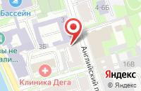 Схема проезда до компании Синтетик в Санкт-Петербурге