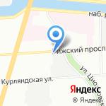 Стройменеджер на карте Санкт-Петербурга