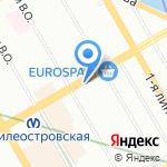 Гимназия №24 им. И.А. Крылова на карте Санкт-Петербурга