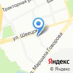 Автодока на карте Санкт-Петербурга