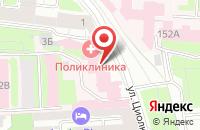 Схема проезда до компании Тепло-энерго монтаж и проектирование в Подольске