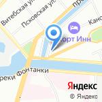 Европейская Служба Патронажа на карте Санкт-Петербурга