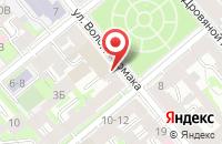 Схема проезда до компании КУБ в Новолуговом