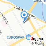 Аргана-клуб на карте Санкт-Петербурга