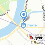 Галактион на карте Санкт-Петербурга