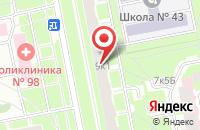 Схема проезда до компании Информ-Навигатор в Санкт-Петербурге