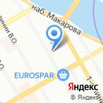 Гимназия №32 на карте Санкт-Петербурга