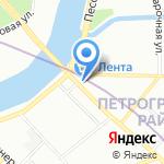 Цвет-торг.рф на карте Санкт-Петербурга