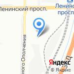 SPb Avto-Ленинский на карте Санкт-Петербурга