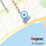 Музей современного искусства им. С.П. Дягилева на карте Санкт-Петербурга