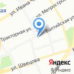 Нарвская на карте Санкт-Петербурга