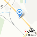 Двадцатый трест на карте Санкт-Петербурга