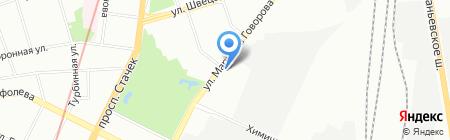 АРКАТ на карте Санкт-Петербурга