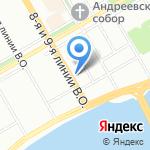 Арт-Фотос на карте Санкт-Петербурга