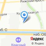 ПОЛОЗ на карте Санкт-Петербурга