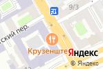 Схема проезда до компании Vinissimo в Санкт-Петербурге