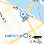 Изыскатель-2000 на карте Санкт-Петербурга