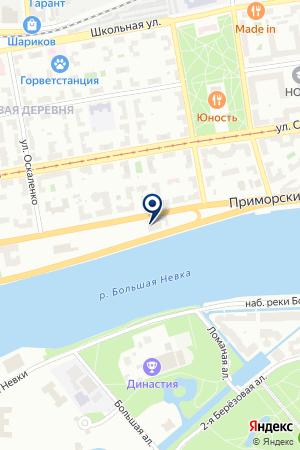 АВТОСТОЯНКА 6 ПРИМОРСКИЙ на карте Приморска