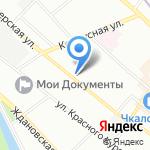 Модуль-3 на карте Санкт-Петербурга