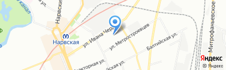ИнтерЛюкс на карте Санкт-Петербурга