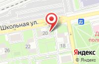 Схема проезда до компании Средняя общеобразовательная школа в Кузьминских Отвержках